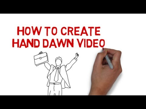 How to create Hand Drawn Videos (Whiteboard videos) - FREE TRIAL