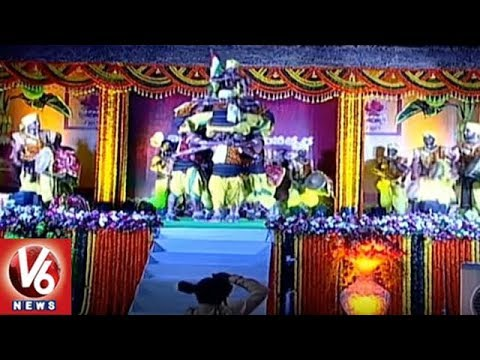 Raj Bhavan Ugadi Festival Celebrations | Vilambi Nama Samvatsaram | Part 2 | V6 News