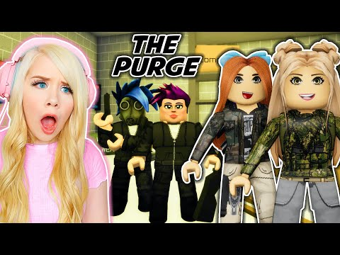 THE PURGE IN BROOKHAVEN! (ROBLOX BROOKHAVEN RP)