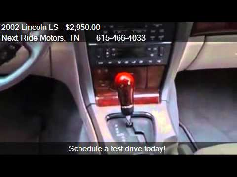 2002 Lincoln Ls V6 Premium For Sale In Mount Juliet Tn