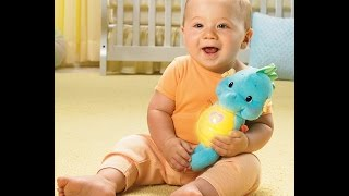 Review: Fisher-Price Ocean Wonders Soothe and Glow Seahorse, Blue