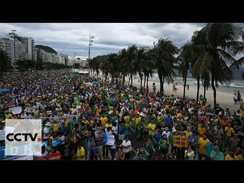 Brazilians demand corruption crackdown from President Temer