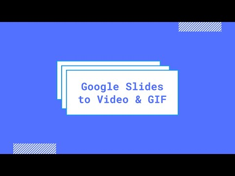How to Download your Google Slides Presentation as a Video File