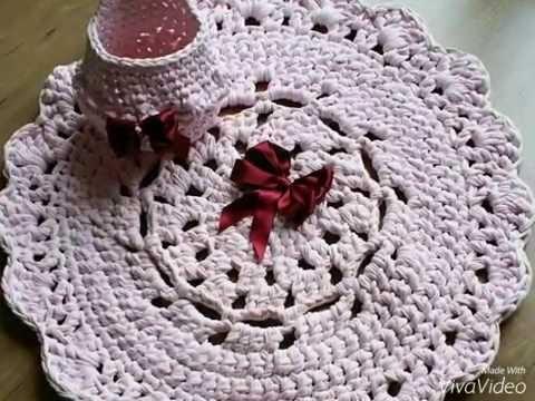 Como hacer patr n gratis alfombra redonda trapillo - Como hacer trapillo ...