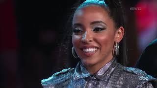 "HD Tinashe and Brandon ""Argentine Tango"" - DWTS Week 2 Night 1 | Season 27"
