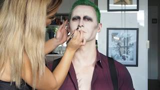 My Version of Suicide Squad Joker Special FX Make Up Tutorial thumbnail
