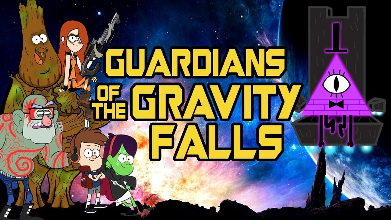 Gravity Falls Pig Wallpaper Gravity Falls Guardians Of The Galaxy Mash Up