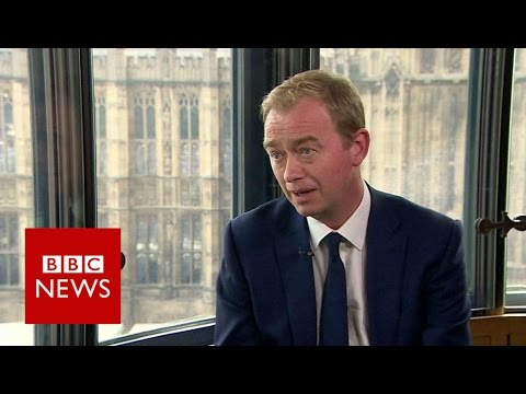 'I don't think gay sex is a sin' says Tim Farron - BBC News