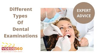 Now Trending - Different types of dental examinations done by Dr. Ramsin