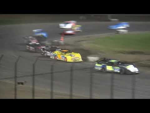 IMCA Late Model B-Main 1 Davenport Speedway 9/21/18