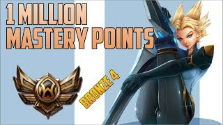 BRONZE 4 Camille 1,000,000 MASTERY POINTS- Spectate Highest Mastery Points on Camille