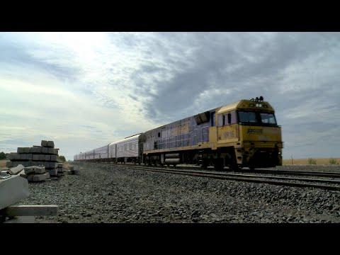 6MA8 The Overland Passenger Train (Journey Beyond Rail Expeditions) (22/1/2021) - PoathTV Railways