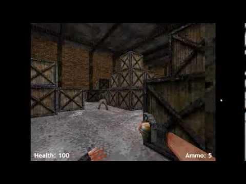 Обзор флеш игры стрелялки Опасный склад