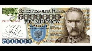 Polskie banknoty, które nie weszły do obiegu