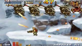 Metal Slug 7 Walkthrough - Mission 6