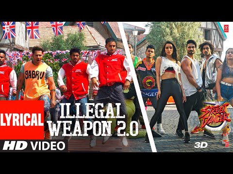 Lyrical: Illegal Weapon 2.0 - Street Dancer 3D | Varun D, Shraddha K | Tanishk B,Jasmine S,Garry S
