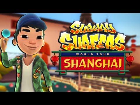 Atualização de Shanghai do Subway Surfers
