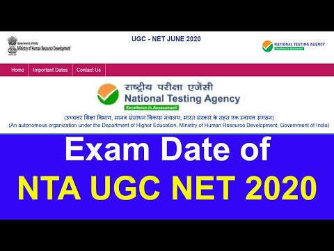 Important Notice Of NTA UGC NET 2020 | Good News For NTA UGC NET | Extend Last Date Of NTA UGC NET