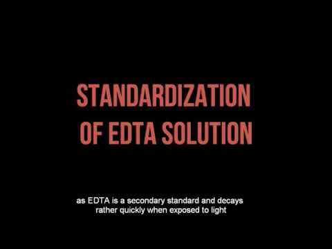 Complexometric Titration: Determination Of Ca By EDTA Titration