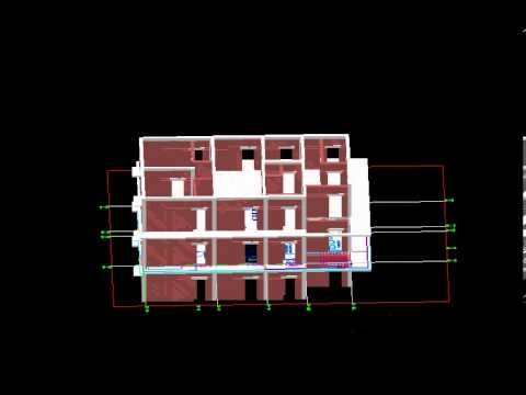 Building Quantity Estimator from 3D AutoCAD