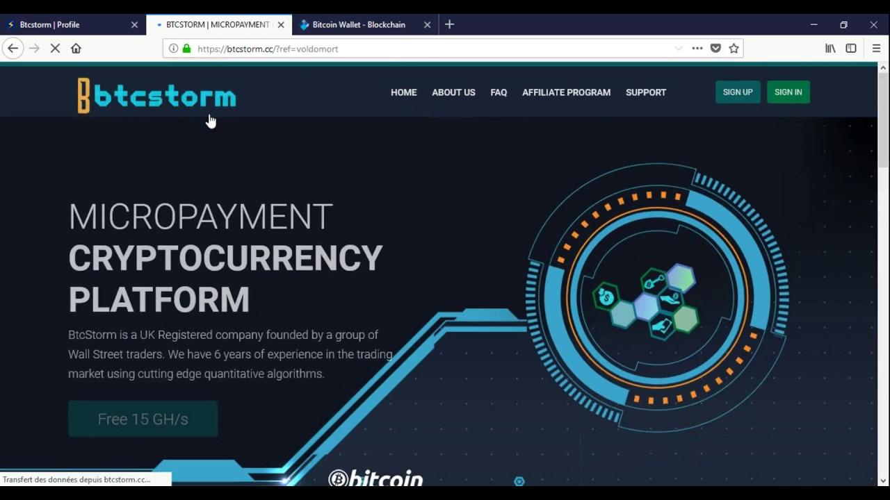 btcstorm cloud mining