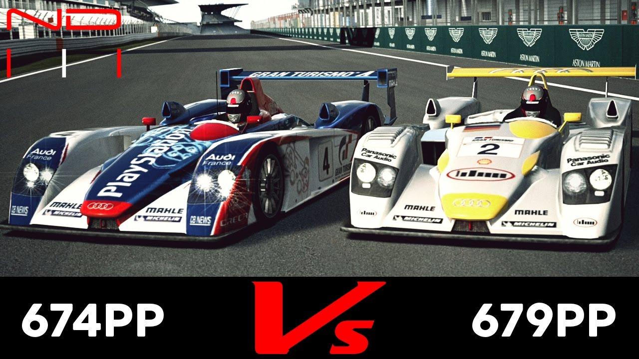 GT Audi R Race Car Vs Audi R Team ORECA - Audi r8 race car 01 gt6