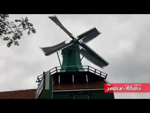 Travel to ZAANSE SCHANS ! Quick Tour Video before you Visit