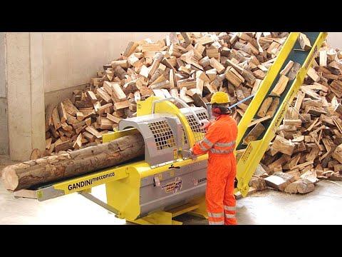 Техника, позволяющая без напряга колоть дрова
