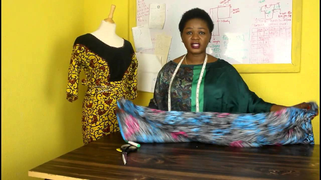 How to cut the traditional african buba or blouse youtube how to cut the traditional african buba or blouse jeuxipadfo Gallery