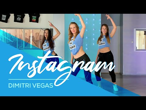 Dimitri Vegas - Instagram - Easy Fitness Dance Video - Choreography - Coreo