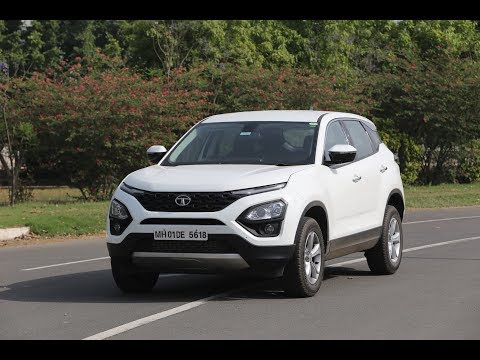 Tata Harrier English Review - see why it's a cheaper Land Rover Discovery Sport
