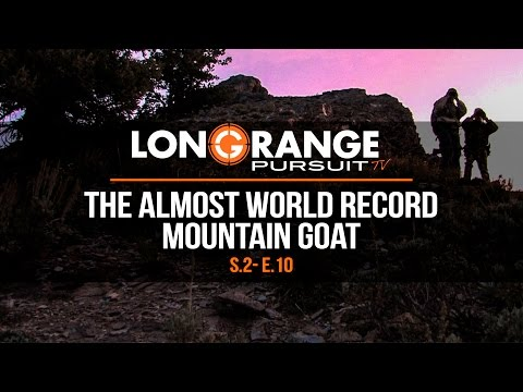 Long Range Pursuit | S2 E10 The Almost World Record Mountain Goat