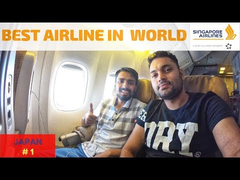 Delhi to Singapore | Singapore Airlines | World's BEST Airline? | Immigration Questions