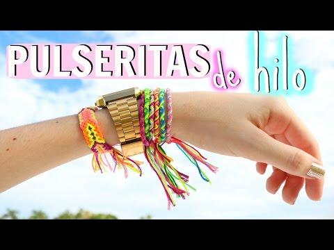 DIY Pulseritas de Hilo ♡Trillizas | Triplets