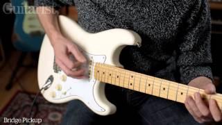 Fender Jimi Hendrix Stratocaster demo