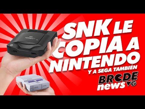 SNK le copia a NINTENDO... y a SEGA