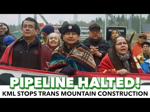 Protests Successfully Halt Pipeline Construction