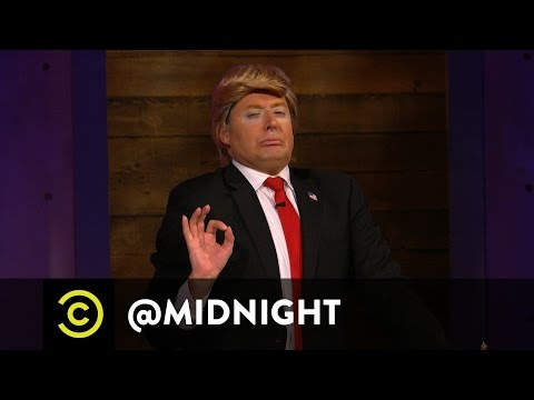 Thumbnail: Donald Trump's Next Wife: Angelina Jolie? - @midnight with Chris Hardwick