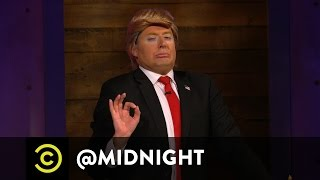 Donald Trump's Next Wife: Angelina Jolie? - @midnight with Chris Hardwick