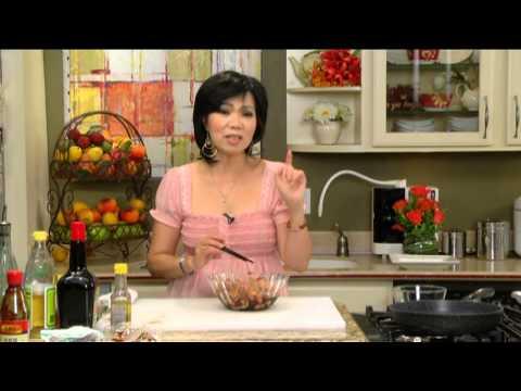 BẾP NHÀ TA NẤU: Cánh gà nướng tương đen