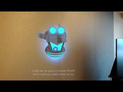 HoloBot for Microsoft HoloLens