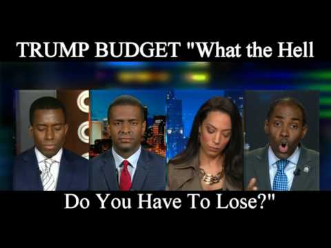Angela Rye gets in Heated Conversation over Trump's Budget
