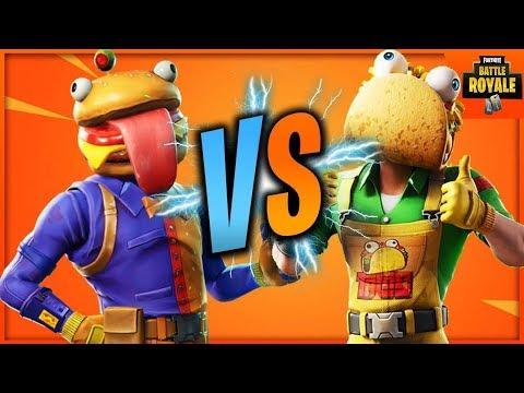 TACO VS DURR BURGER ! (FORTNITE)