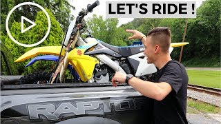 BUYING HIS FIRST BIKE !!