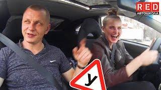 Обучение на Спорткаре!  Ученица в Шоке от Нового Авто… Урок Вождения 6!!!  [Автошкола на YouTube]