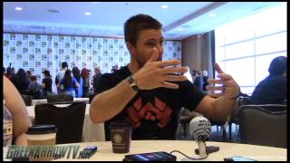 Stephen Amell | Arrow Season 6 | Comic-Con 2017