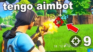 I change my sights on Fortnite with this SECRET trick... (looks like aimbot)