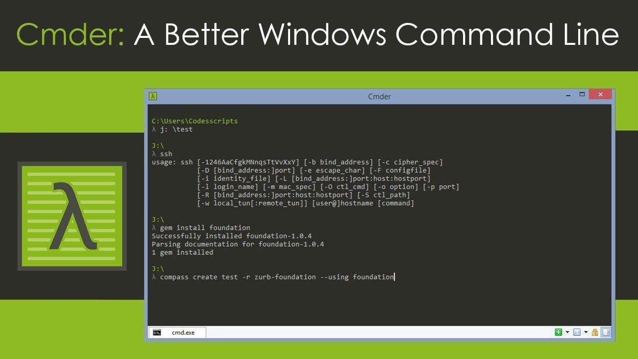 Cmder create ssh key | CMDER connecting SSH with ppk file