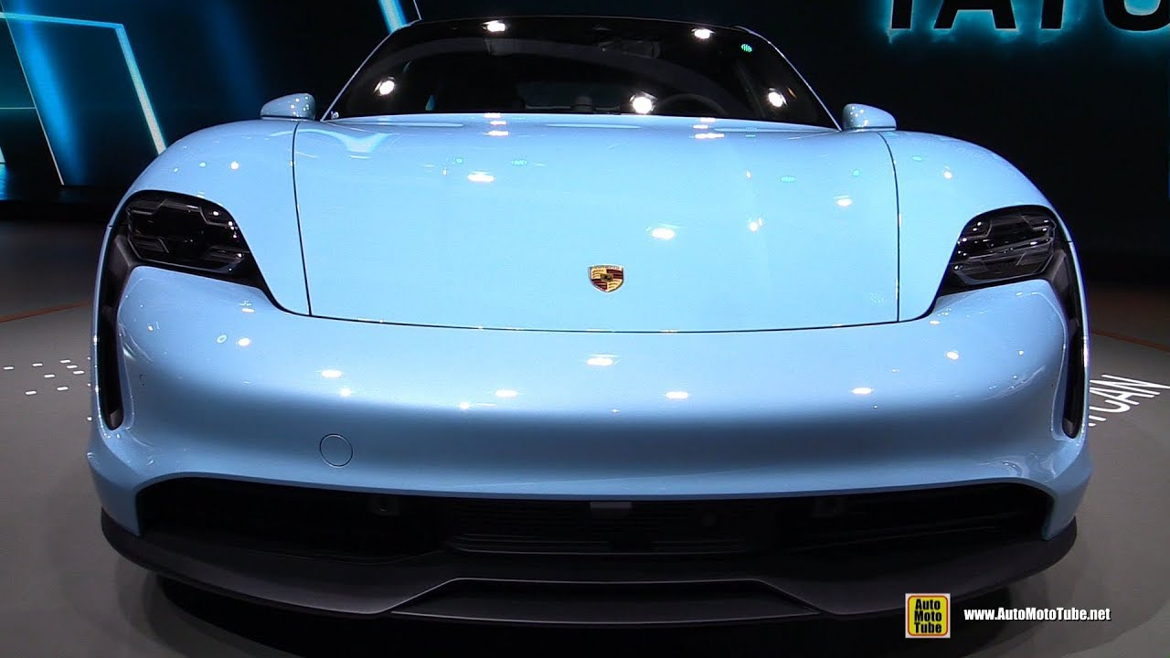2020 Porsche Taycan 4S - Exterior Interior Walkaround - Debut at 2019 LA Auto Show