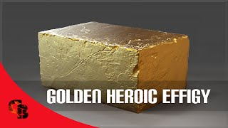 Dota 2: Store - Golden Heroic Effigy - The International 2015